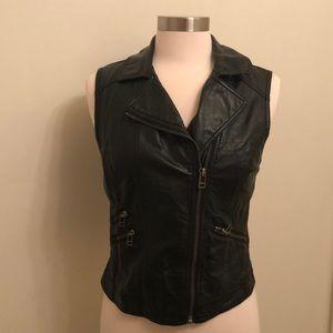 H&M Faux leather vest